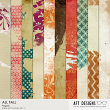 Collage All Fall Digital Papers | AFT Designs
