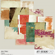 All Fall Digital Scrapbooking Collage Backgrounds by AFT Designs