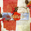 Digital Scrapbooking Fall Layout by AFT designs
