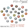 digiscrap flair - coffee by Vicki Stegall