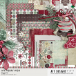 My Merry Wish Biggie #digitalscrapbooking holiday, winter, and Christmas kit by AFT designs