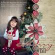 "Uses ""My Merry Wish"" digital scrapbook kit by AFT designs"