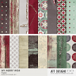 My Merry Wish #digitalscrapbooking holiday printable backgrounds by AFT designs
