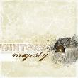 """""""Winters Majesty"""" digital scrapbooking snow layout by AFT designs"""
