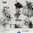 Digital Scrapbooking Take Time Photomask Blends by AFT Designs #digitalscrapbook