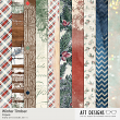 Winter Timber #digitalscrapbooking background papers by AFT designs @ Oscraps.com | #winter #printables #scrapbook