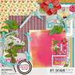 Budding Mini Kit by AFT designs - Amanda Fraijo-Tobin @Oscraps.com