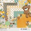 Honey Love #digiscrap kit by AFT Designs | Oscraps.com