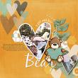 ' A Girl and her Bear' #digitalscrapbooking layout idea by Amanda Fraijo-Tobin | AFT Designs @ Oscraps.com #scrapbooking #digiscrap