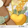 Detail of Honey Love Collection closeup by AFT Designs | #digitalscrapbooking design by Amanda Fraijo-Tobin @ ScrapGirls.com