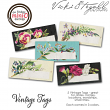 Vicki Stegall Vintage Floral Tags
