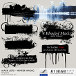 Mask Jots - Winter Magic by AFT designs - photoshop brushes and embellishment templates