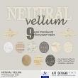 Neutral Vellum Photoshop Layer Styles by AFT designs