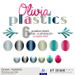 Layer Styles - Olivia Plastics by AFT Designs #photoshop #pse #layerstyles #scrapbook