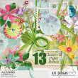 All Spring Digital Scrapbooking Clusters and Blend Embellishments by AFT designs | AFTdesigns.net #scrapbooking #spring