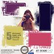 Embellishment Templates - Adventurous Frames Masks by AFT Designs - Amanda Fraijo-Tobin #oscraps #photoshop