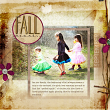 "Digital Scrapbooking Layout ""Fall Means"" by Amanda Fraijo-Tobin"
