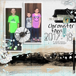 "Digital Scrapbooking ""Chronister Fam"" layout by AFT Designs - Amanda Fraijo-Tobin using ""School Basics"" #digitalscrapbooking kit"