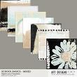 School Basics - Mixed Collage Papers by AFT Designs @oScraps.com | AFTdesigns.net #digitalscrapbooking #printables #oscraps