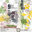 Opulent #digitalscrapbooking Paint Transfer Art Journal Embellishments by AFT Designs @Oscraps.com