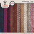 Immortal Love Damask Patterns by On A Whimsical Adventure