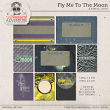 Fly Me To The Moon Journal Cards by On A Whimsical Adventure