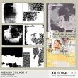 Paper Templates: Blended Collage 1 by AFT Designs - Amanda Fraijo-Tobin @oscraps.com | #digitalscrapbooking #templates #digiscrap