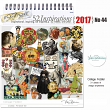 vintage ephemera collage fodder digital art journal