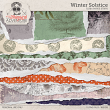 Winter Solstice Torn Paper Strips by On A Whimsical Adventure
