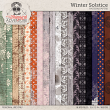 Winter Solstice Pattern And Mixed Media Papers by On A Whimsical Adventure
