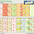 Tutti Frutti papers by Aftermidnight Design