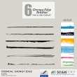 Brush Set: Essential - Grungy Lines by AFT Designs - Amanda Fraijo-Tobin @Oscraps.com #photoshop #brushes #paint