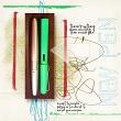 "Digital Scrapbooking Layout ""New Pen"" by AFT Designs - Amanda Fraijo-Tobin @aftdesigns.net #digitalscrapbooking #artjournal"