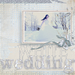 """White Wedding"" #digitalscrapbooking layout by AFT Designs - Amanda Fraijo-Tobin"