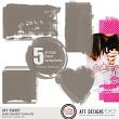 Embellishment Templates - Masks: My Sweet by AFT Designs - Amanda Fraijo-Tobin @Oscraps.com | #aftdesigns #oscraps #digiscraps