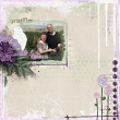 Almost Spring Digital Scrapbook Kit by Vicki Robinson sample page 3