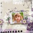 Almost Spring Digital Scrapbook Kit by Vicki Robinson sample page 6