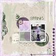 Almost Spring Digital Scrapbook Kit by Vicki Robinson sample page 7