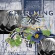 'Charming' #digitalscrapbooking layout by AFT Designs - Amanda Fraijo-Tobin