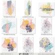 Delightful #digitalscrapbooking Paint Embellishments AFT Designs - Amanda Fraijo-Tobin @Oscraps.com