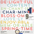 Delightful #digitalscrapbooking Word Art Titles by AFT Designs - Amanda Fraijo-Tobin @Oscraps.com