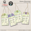 Easter Morning Gift Tags by On A Whimsical Adventure
