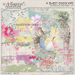 A Sweet Eggscape Transfers And Paint by On A Whimsical Adventure