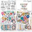 Summer Lovin' Collection for Digital Scrapbooking by Vicki Stegall Designs available at Oscraps.com
