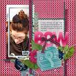 #digitalscrapbooking layout by AFT Designs - Amanda Fraijo-Tobin using 'Olivia Value Pack'