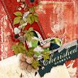 """Cherished Moments"" by AFT Designs - Amanda Fraijo-Tobin love mixed papers digital scrapbooking layout idea"