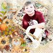 Fall Follies Layout by Linda