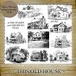 This Old House - Set 2 by Laurie Ann Phinney