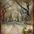 This is Me November Layout by Jenni