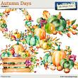 Autumn Days Clusters 1 by Aftermidnight Design